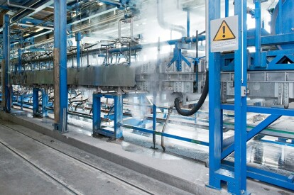 BREL automation-produktionsstrasse